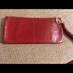 Hobo International Leather X-L Wristlet